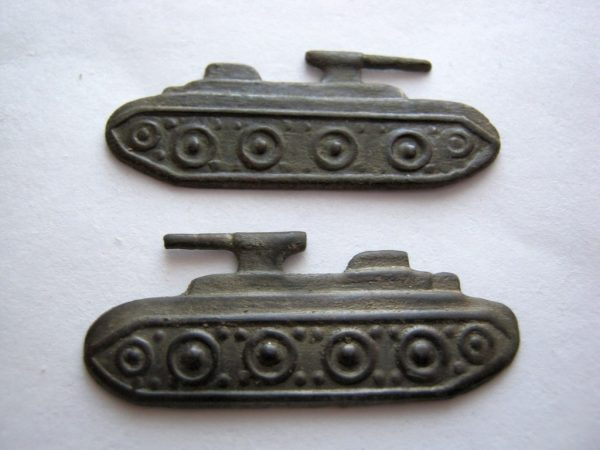 russian tank collar emblems signs