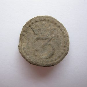 Kingdom of Italia 1812 Napoleoon button
