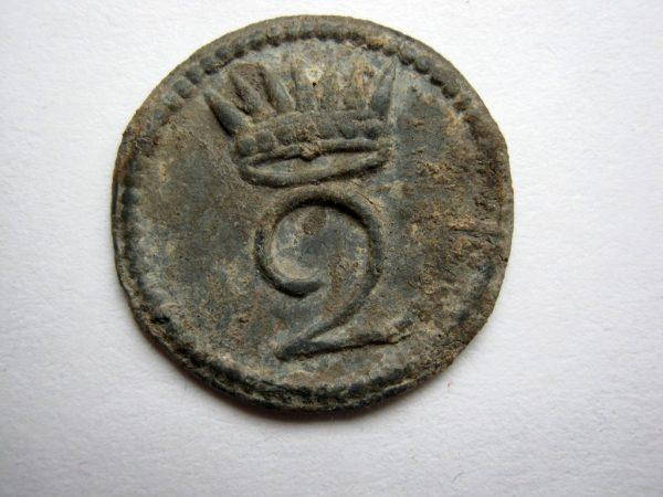 Rare button Kingdom of Italy 2nd regiment Napoleon Bonaparte allies