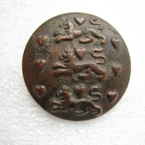 Antique Military tunic button of Denmark