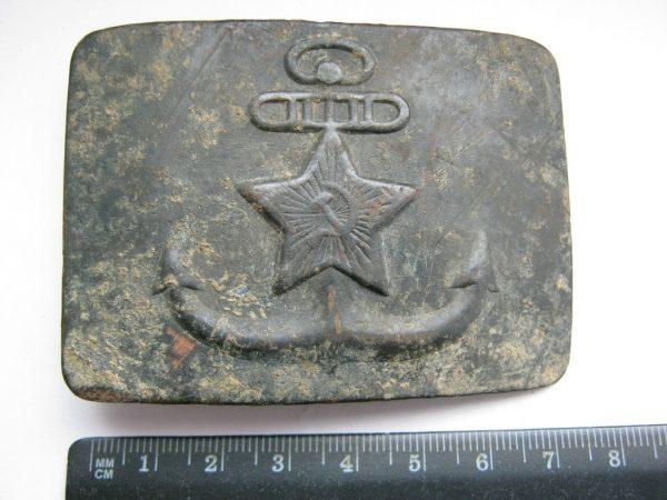 USSR Navy belt buckle cm