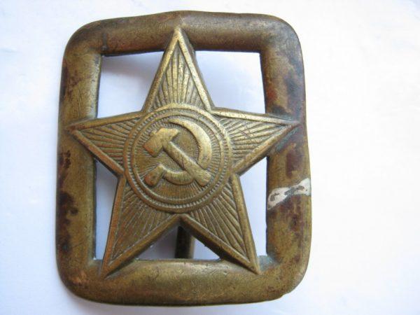 Soviet buckle mod. 1935-1936