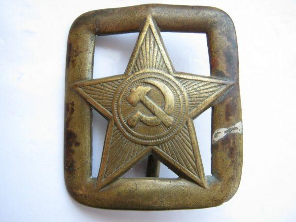 Red army ww2 RKKA belt buckle