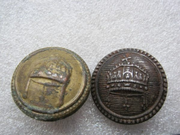 old hungarian military buttons