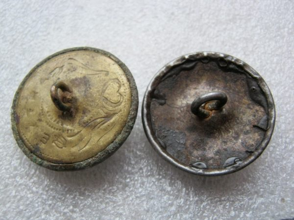 buttons of Hungary militaria
