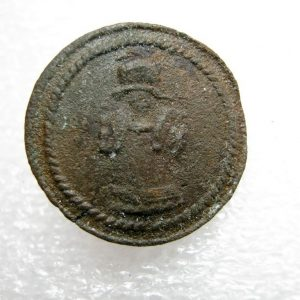 Napoleonic sapper button