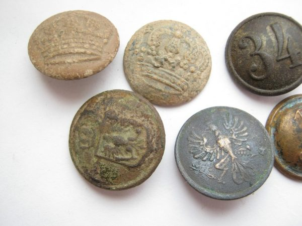 military buttons ww1