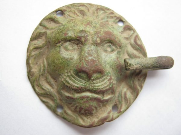 lion face buckle