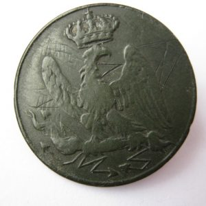 Napoleonic war 1812 button