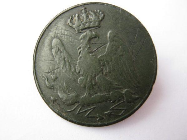 Napoleonic war 1812 button