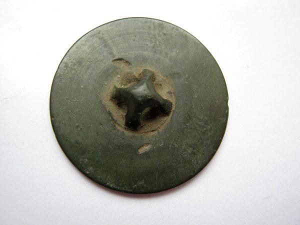 Napoleonic war 1812 button backward