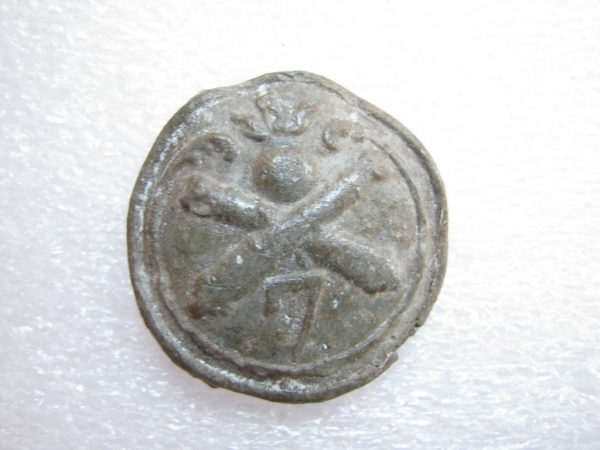 Napoleonic Grand Army pewter button