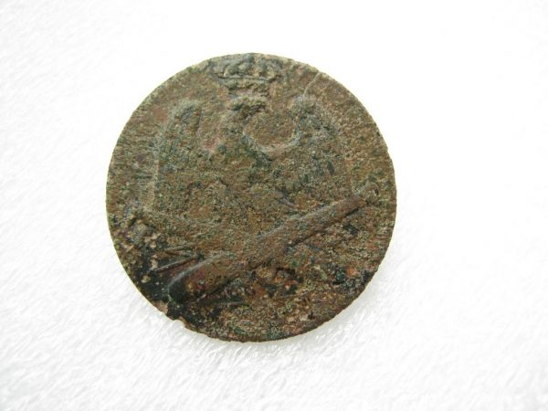 antique napoleonic era button