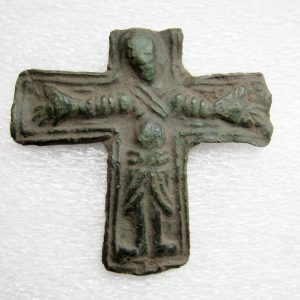 old antique viking cross found